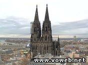 Веб камера: Кёльнский собор, Германия, Кёльн