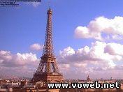 Веб камера: Франция, Париж, Эйфелевая башня