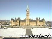 Веб камера: Канада, Оттава, Парламент Хилл