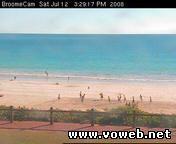 Брум, Австралия Пляжная вебкамера Cable Beach