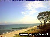 Веб камера - Германия, Ареншооп, пляж на Балтийском море