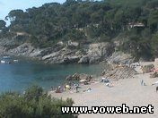 Пляж отеля TAMARIU - COSTA BRAVA