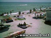 Веб камера - Украина, Кирилловка (Азовское море, Федотова коса)