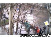 Веб камера: Украина, Славянск, захваченное здание СБУ