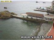 Веб камера: Украина, Крым, Алушта, пляж гостиницы