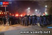 Онлайн трансляция: Армения, Гюмри массовые протесты у посольства России