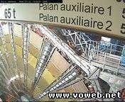 Веб-камера детектора Атлас. Большой адронный коллайдер
