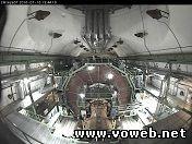 Веб-камера в шахте Большого адронного коллайдера