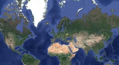 фото со спутника карты Google
